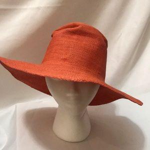 Orange Floppy Hat
